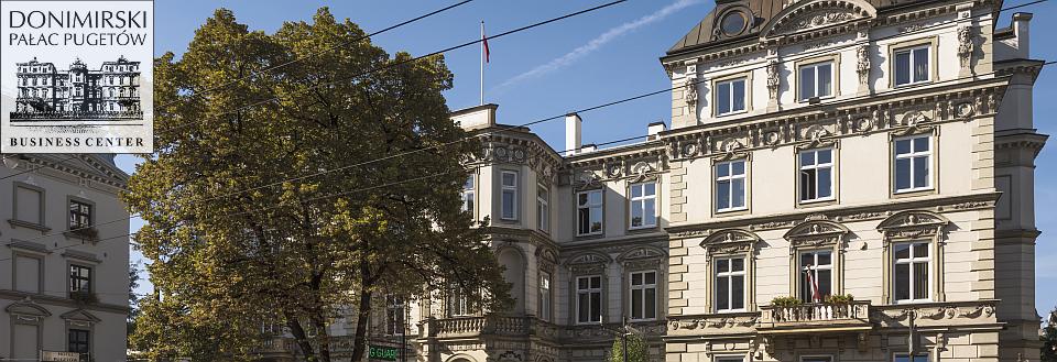 Donimirski Pałac Pugetów Business Center - wynajem biur - centrum Krakowa
